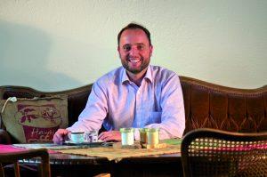 Thomas Eckel- Gründer der Murnauer Kaffeerösterei